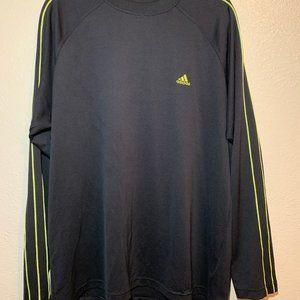 📍 Men's Black Long Sleeve Adidas Shirt